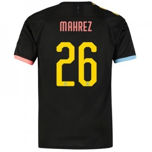 Manchester City Cup Authentic Away Shirt 2019-20 with Mahrez 26 printing