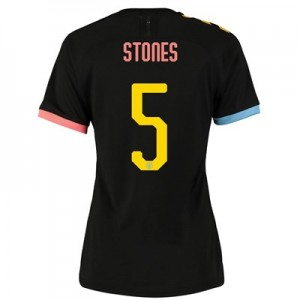 Manchester City Cup Authentic Away Shirt 2019-20 - Womens with Stones 5 printing