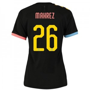 Manchester City Cup Authentic Away Shirt 2019-20 - Womens with Mahrez 26 printing