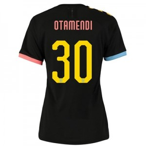 Manchester City Cup Authentic Away Shirt 2019-20 - Womens with Otamendi 30 printing