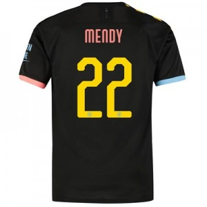 Manchester City Cup Away Shirt 2019-20 with Mendy 22 printing