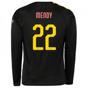 Manchester City Cup Away Shirt 2019-20 - Long Sleeve with Mendy 22 printing