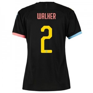Manchester City Cup Away Shirt 2019-20 - Womens with Walker 2 printing