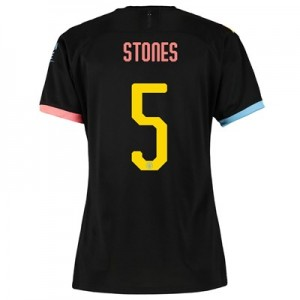 Manchester City Cup Away Shirt 2019-20 - Womens with Stones 5 printing