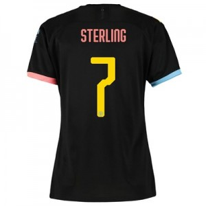 Manchester City Cup Away Shirt 2019-20 - Womens with Sterling 7 printing