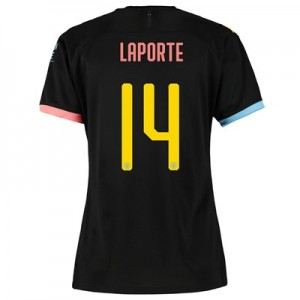 Manchester City Cup Away Shirt 2019-20 - Womens with Laporte 14 printing