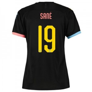 Manchester City Cup Away Shirt 2019-20 - Womens with Sané 19 printing