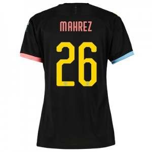 Manchester City Cup Away Shirt 2019-20 - Womens with Mahrez 26 printing