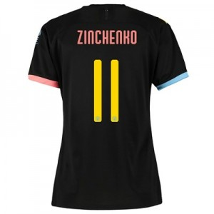 Manchester City Cup Away Shirt 2019-20 - Womens with Zinchenko 11 printing