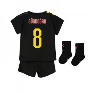 Manchester City Cup Away Baby Kit 2019-20 with Gündogan 8 printing