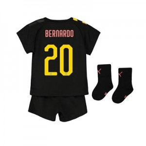 Manchester City Cup Away Baby Kit 2019-20 with Bernardo 20 printing