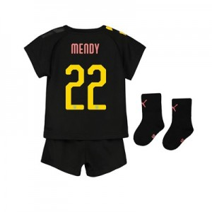 Manchester City Cup Away Baby Kit 2019-20 with Mendy 22 printing