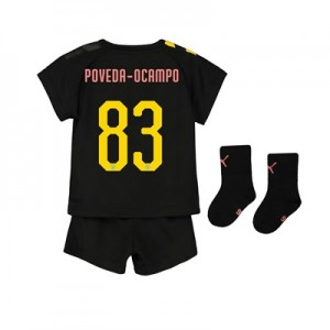 Manchester City Cup Away Baby Kit 2019-20 with Poveda-Ocampo 83 printing