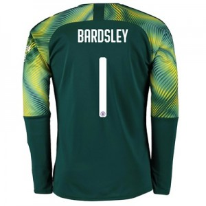 Manchester City Cup Home Goalkeeper Shirt 2019-20 with Bardsley 1 printing