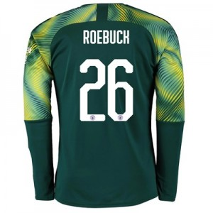 Manchester City Cup Home Goalkeeper Shirt 2019-20 with Roebuck 26 printing