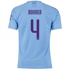 Manchester City Cup Authentic Home Shirt 2019-20 with Bonner 4 printing