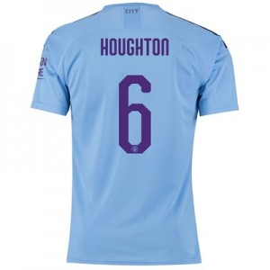 Manchester City Cup Authentic Home Shirt 2019-20 with Houghton 6 printing
