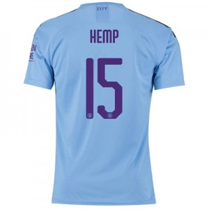 Manchester City Cup Authentic Home Shirt 2019-20 with Hemp 15 printing