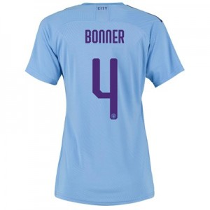 Manchester City Cup Authentic Home Shirt 2019-20 - Womens with Bonner 4 printing