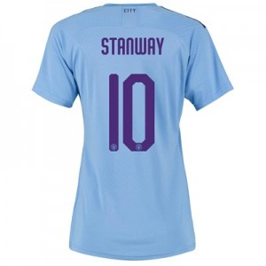 Manchester City Cup Authentic Home Shirt 2019-20 - Womens with Stanway 10 printing