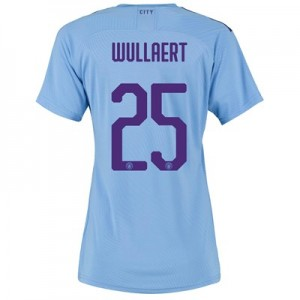 Manchester City Cup Authentic Home Shirt 2019-20 - Womens with Wullaert 25 printing