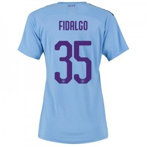 Manchester City Cup Authentic Home Shirt 2019-20 - Womens with FIDALGO 35 printing