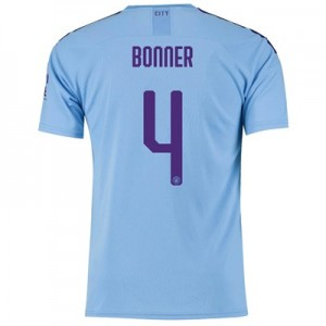 Manchester City Cup Home Shirt 2019-20 with Bonner 4 printing