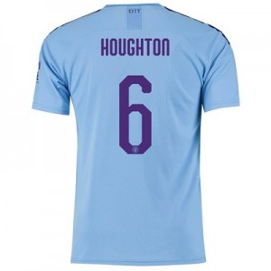 Manchester City Cup Home Shirt 2019-20 with Houghton 6 printing