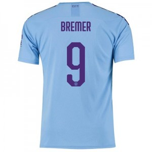Manchester City Cup Home Shirt 2019-20 with Bremer 9 printing
