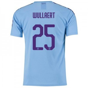 Manchester City Cup Home Shirt 2019-20 with Wullaert 25 printing