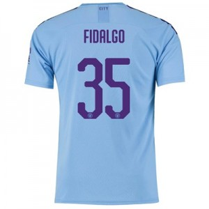 Manchester City Cup Home Shirt 2019-20 with FIDALGO 35 printing