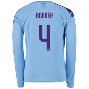 Manchester City Cup Home Shirt 2019-20 - Long Sleeve with Bonner 4 printing