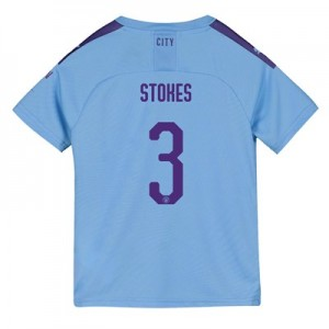 Manchester City Cup Home Shirt 2019-20 - Kids with Stokes 3 printing