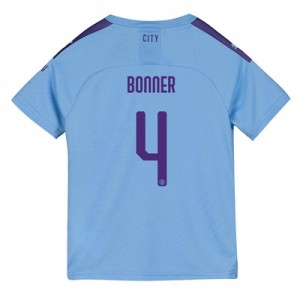 Manchester City Cup Home Shirt 2019-20 - Kids with Bonner 4 printing