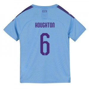 Manchester City Cup Home Shirt 2019-20 - Kids with Houghton 6 printing