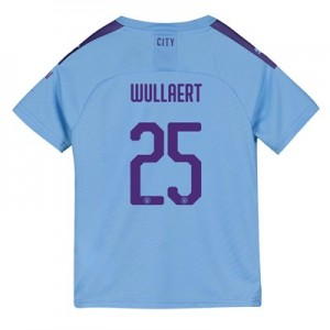 Manchester City Cup Home Shirt 2019-20 - Kids with Wullaert 25 printing