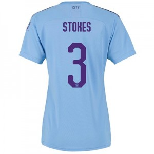 Manchester City Cup Home Shirt 2019-20 - Womens with Stokes 3 printing