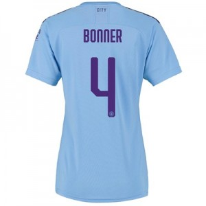 Manchester City Cup Home Shirt 2019-20 - Womens with Bonner 4 printing