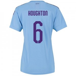 Manchester City Cup Home Shirt 2019-20 - Womens with Houghton 6 printing