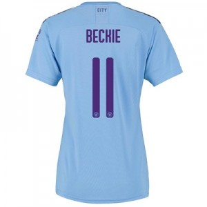 Manchester City Cup Home Shirt 2019-20 - Womens with BECKIE 11 printing