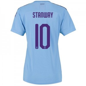 Manchester City Cup Home Shirt 2019-20 - Womens with Stanway 10 printing