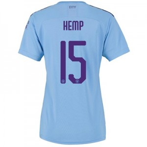 Manchester City Cup Home Shirt 2019-20 - Womens with Hemp 15 printing