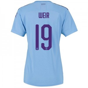 Manchester City Cup Home Shirt 2019-20 - Womens with Weir 19 printing