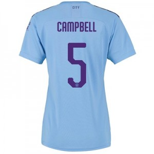 Manchester City Cup Home Shirt 2019-20 - Womens with Campbell 5 printing