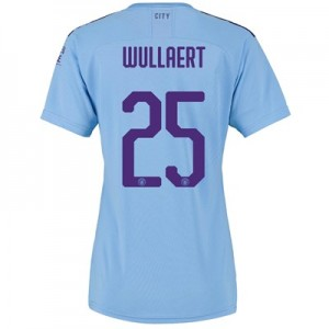 Manchester City Cup Home Shirt 2019-20 - Womens with Wullaert 25 printing