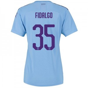 Manchester City Cup Home Shirt 2019-20 - Womens with FIDALGO 35 printing