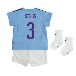 Manchester City Cup Home Baby Kit 2019-20 with Stokes 3 printing