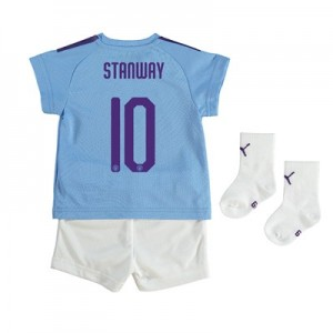 Manchester City Cup Home Baby Kit 2019-20 with Stanway 10 printing
