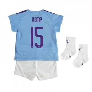 Manchester City Cup Home Baby Kit 2019-20 with Hemp 15 printing