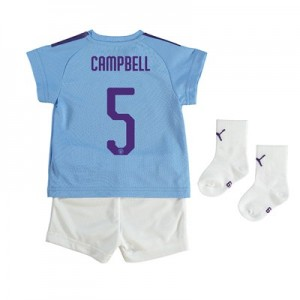 Manchester City Cup Home Baby Kit 2019-20 with Campbell 5 printing